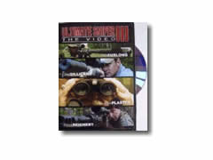 Ultimate Sniper III DVD with Major John Plaster, Rob Furlong, Jim Gilland, and Steve Rechert